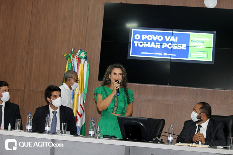 Cordélia toma posse e ex-prefeito Paulo Ernesto participa por vídeo-chamada 115