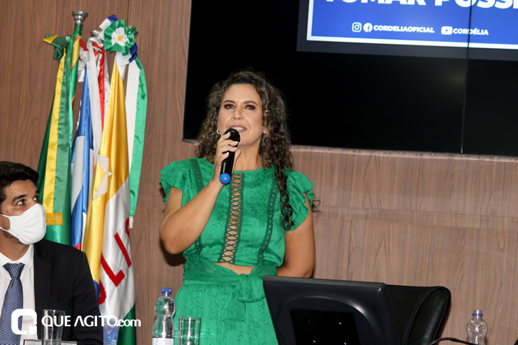 Cordélia toma posse e ex-prefeito Paulo Ernesto participa por vídeo-chamada 110