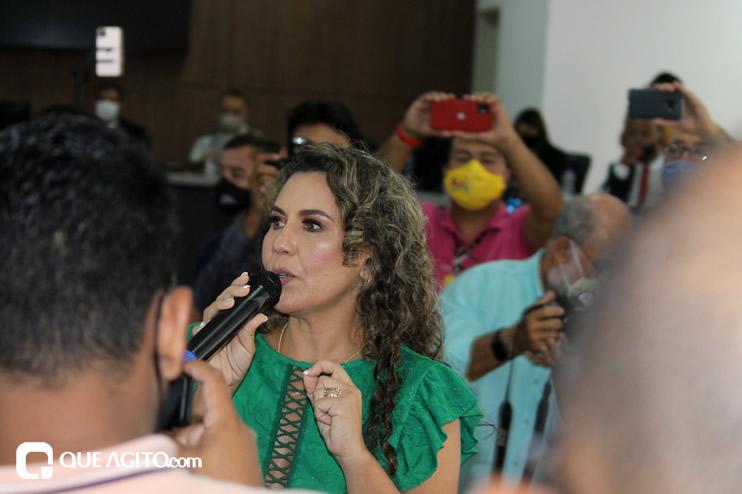 Cordélia toma posse e ex-prefeito Paulo Ernesto participa por vídeo-chamada 111