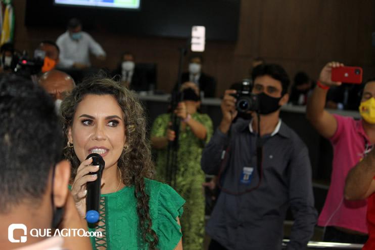 Cordélia toma posse e ex-prefeito Paulo Ernesto participa por vídeo-chamada 114