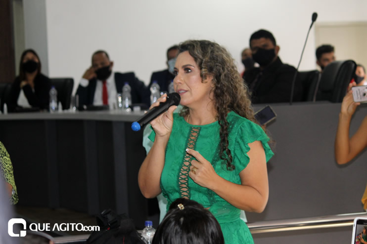 Cordélia toma posse e ex-prefeito Paulo Ernesto participa por vídeo-chamada 117