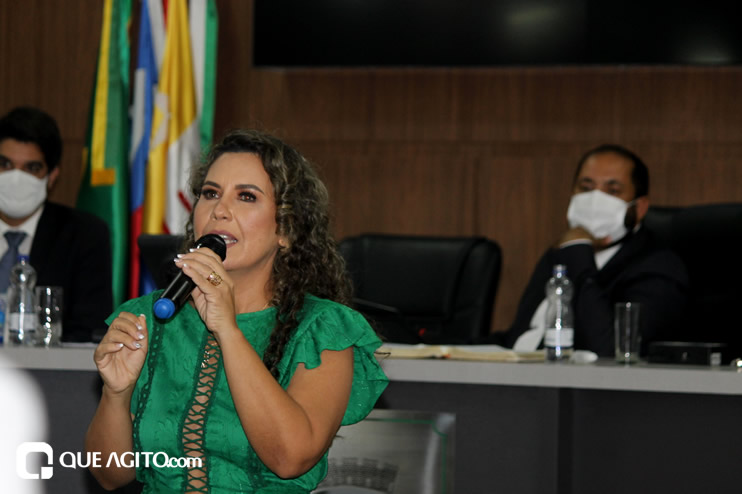 Cordélia toma posse e ex-prefeito Paulo Ernesto participa por vídeo-chamada 116