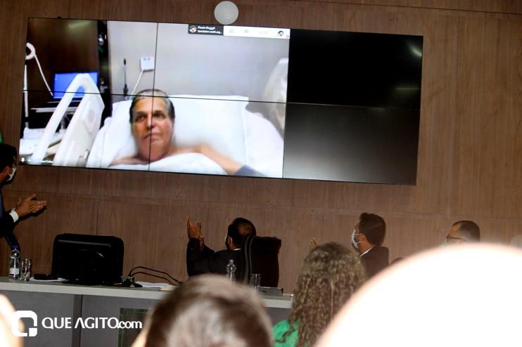 Cordélia toma posse e ex-prefeito Paulo Ernesto participa por vídeo-chamada 119