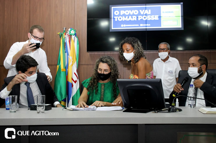 Cordélia toma posse e ex-prefeito Paulo Ernesto participa por vídeo-chamada 135
