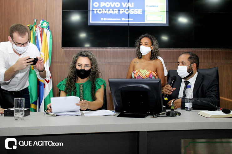 Cordélia toma posse e ex-prefeito Paulo Ernesto participa por vídeo-chamada 136