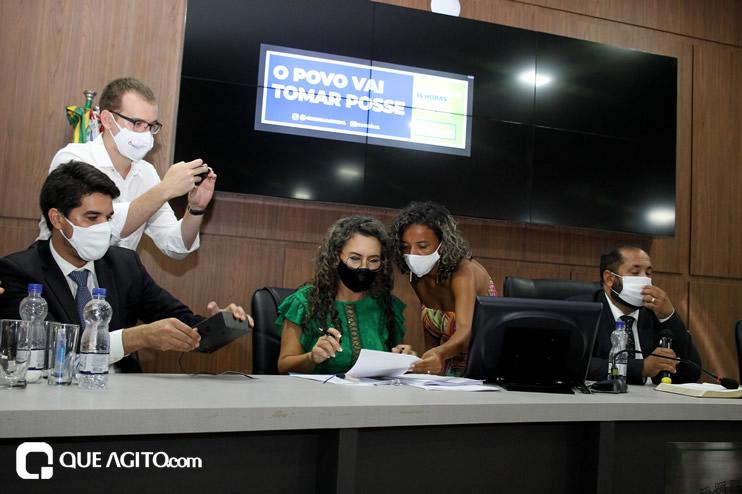 Cordélia toma posse e ex-prefeito Paulo Ernesto participa por vídeo-chamada 137