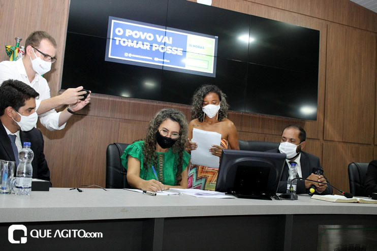 Cordélia toma posse e ex-prefeito Paulo Ernesto participa por vídeo-chamada 141