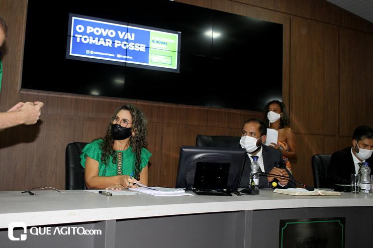 Cordélia toma posse e ex-prefeito Paulo Ernesto participa por vídeo-chamada 139