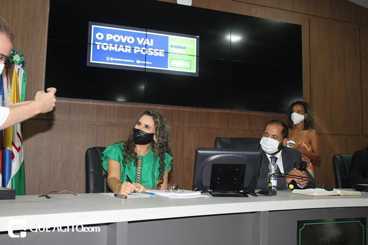 Cordélia toma posse e ex-prefeito Paulo Ernesto participa por vídeo-chamada 142