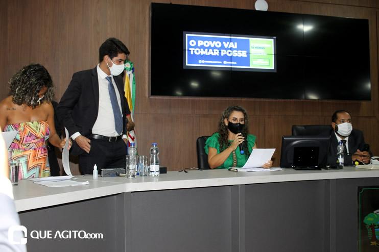 Cordélia toma posse e ex-prefeito Paulo Ernesto participa por vídeo-chamada 143