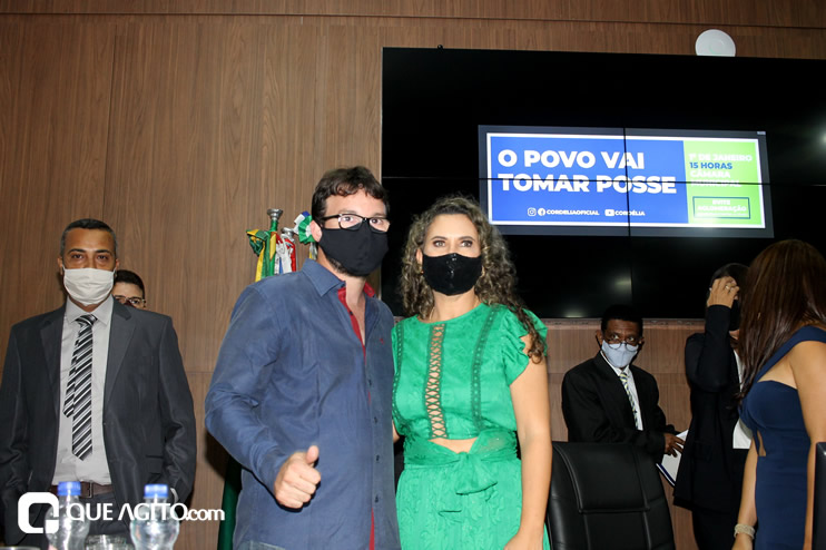 Cordélia toma posse e ex-prefeito Paulo Ernesto participa por vídeo-chamada 150