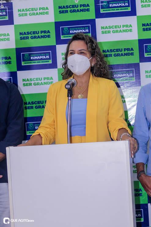 Cordélia Torres recebe ACM Neto em Eunápolis 100