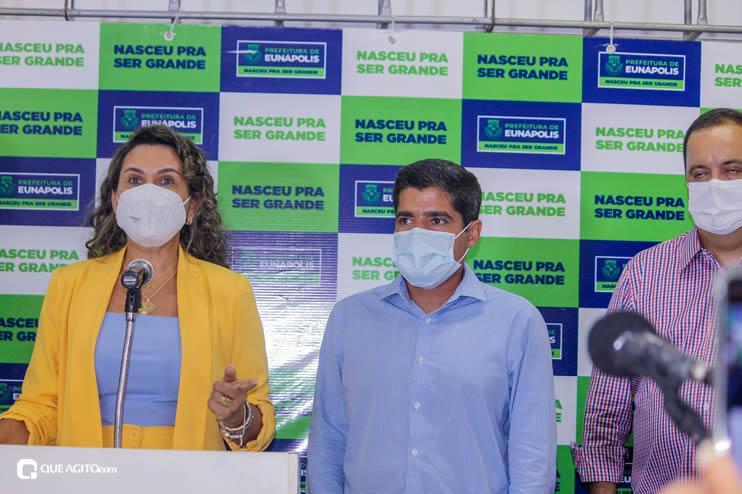 Cordélia Torres recebe ACM Neto em Eunápolis 108