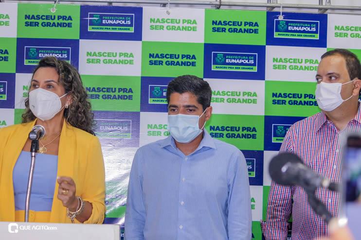 Cordélia Torres recebe ACM Neto em Eunápolis 110