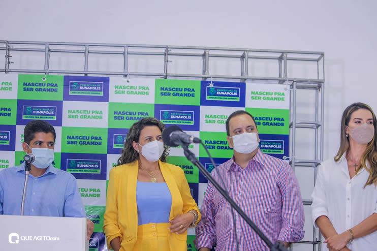 Cordélia Torres recebe ACM Neto em Eunápolis 113