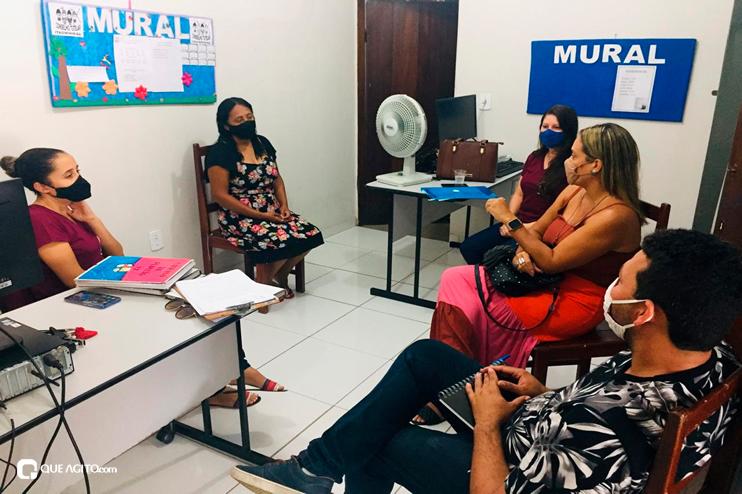Itagimirim: Secretária de assistência social se reúne com o conselho tutelar 22