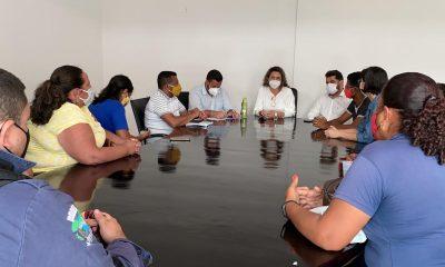 Cordélia se reúne com representantes de sindicatos que estão com os salários atrasados 34