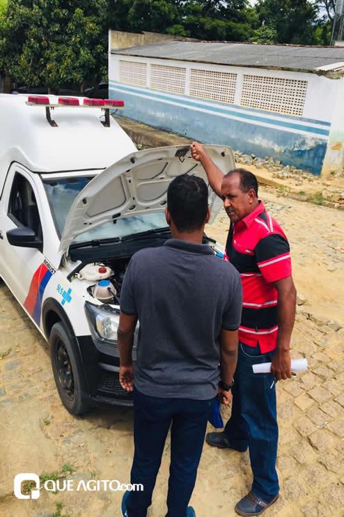 Itagimirim: Luizinho faz visitas em União Baiana. 34