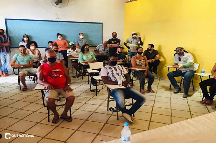 Itagimirim: Luizinho faz visitas em União Baiana. 39