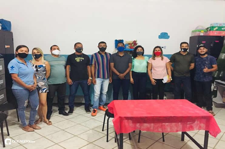 Itagimirim: Luizinho faz visitas em União Baiana. 35