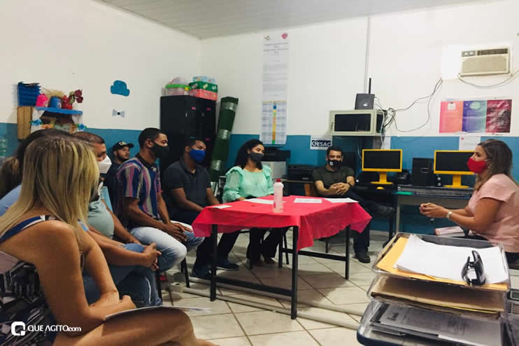Itagimirim: Luizinho faz visitas em União Baiana. 30