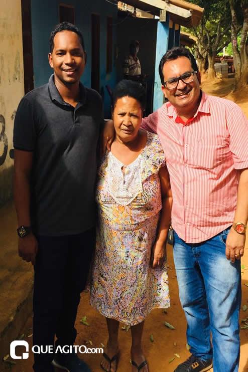 Itagimirim: Luizinho faz visitas em União Baiana. 48