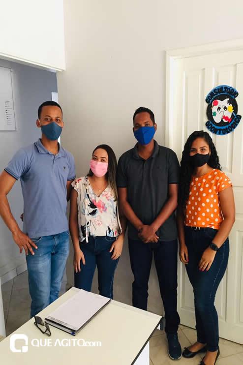 Itagimirim: Luizinho faz visitas em União Baiana. 46
