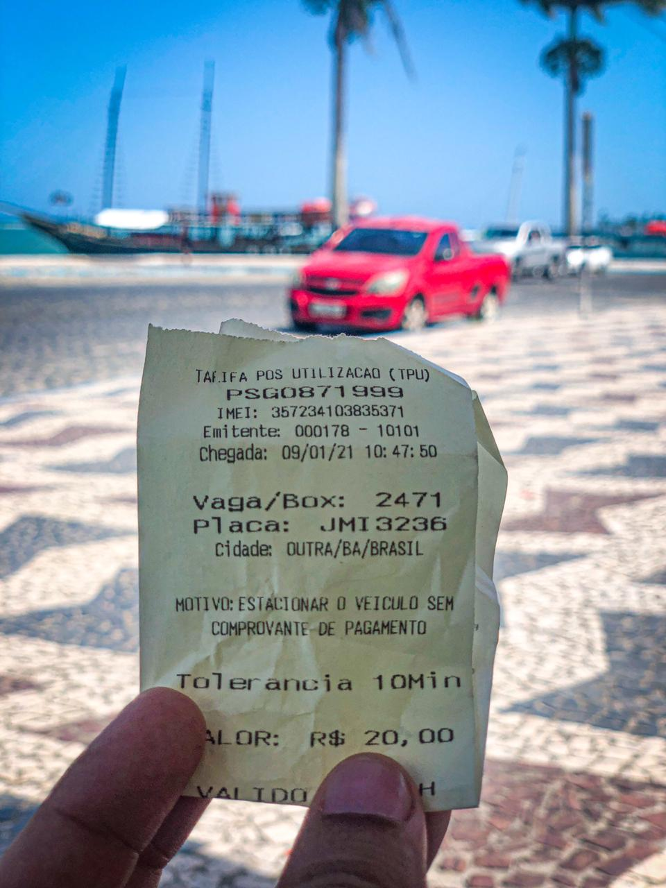 Tribunal de justiça faz voltar a Zona azul em Porto Seguro. A Prefeitura irá recorrer da decisão! 20