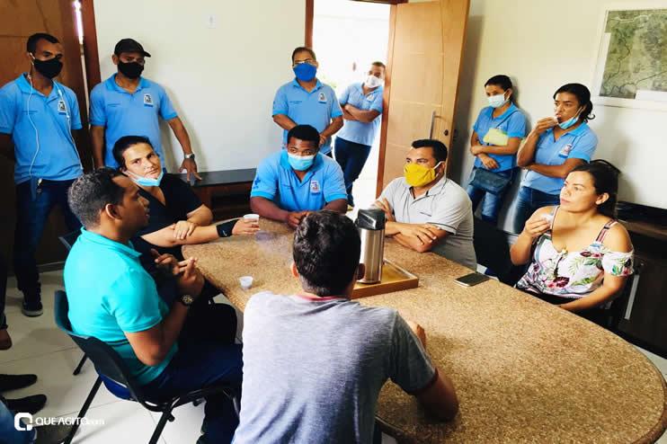 Luizinho e Sindiacser buscam solução para pagamentos de salários atrasados entre outras demandas da classe 25