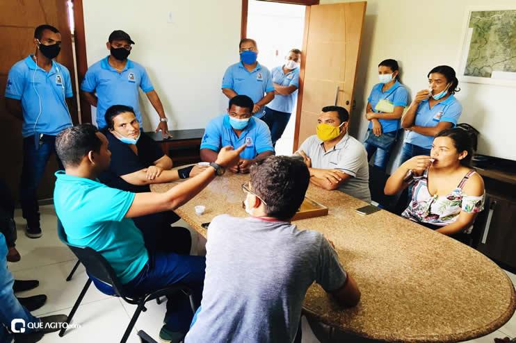 Luizinho e Sindiacser buscam solução para pagamentos de salários atrasados entre outras demandas da classe 26