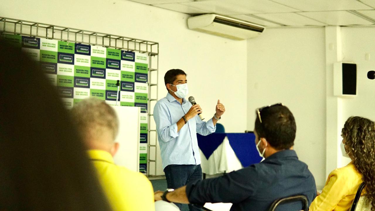 Eunápolis: ACM Neto faz palestra com secretários e orienta sobre modelo de gestão eficiente 21