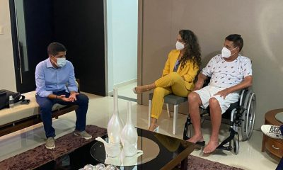 ACM Neto visita ex-prefeito Paulo Ernesto e pede que ele cuide da saúde 42