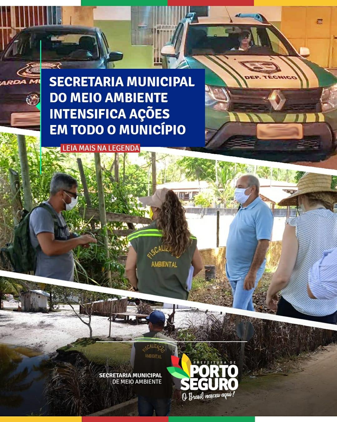 Porto Seguro: Secretaria Municipal de Meio Ambiente intensifica ações em todo o município 18