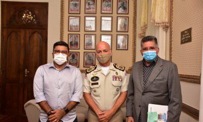 Segurança Pública é tema de conversas entre Jânio Natal e o novo Comandante da PM-BA 41