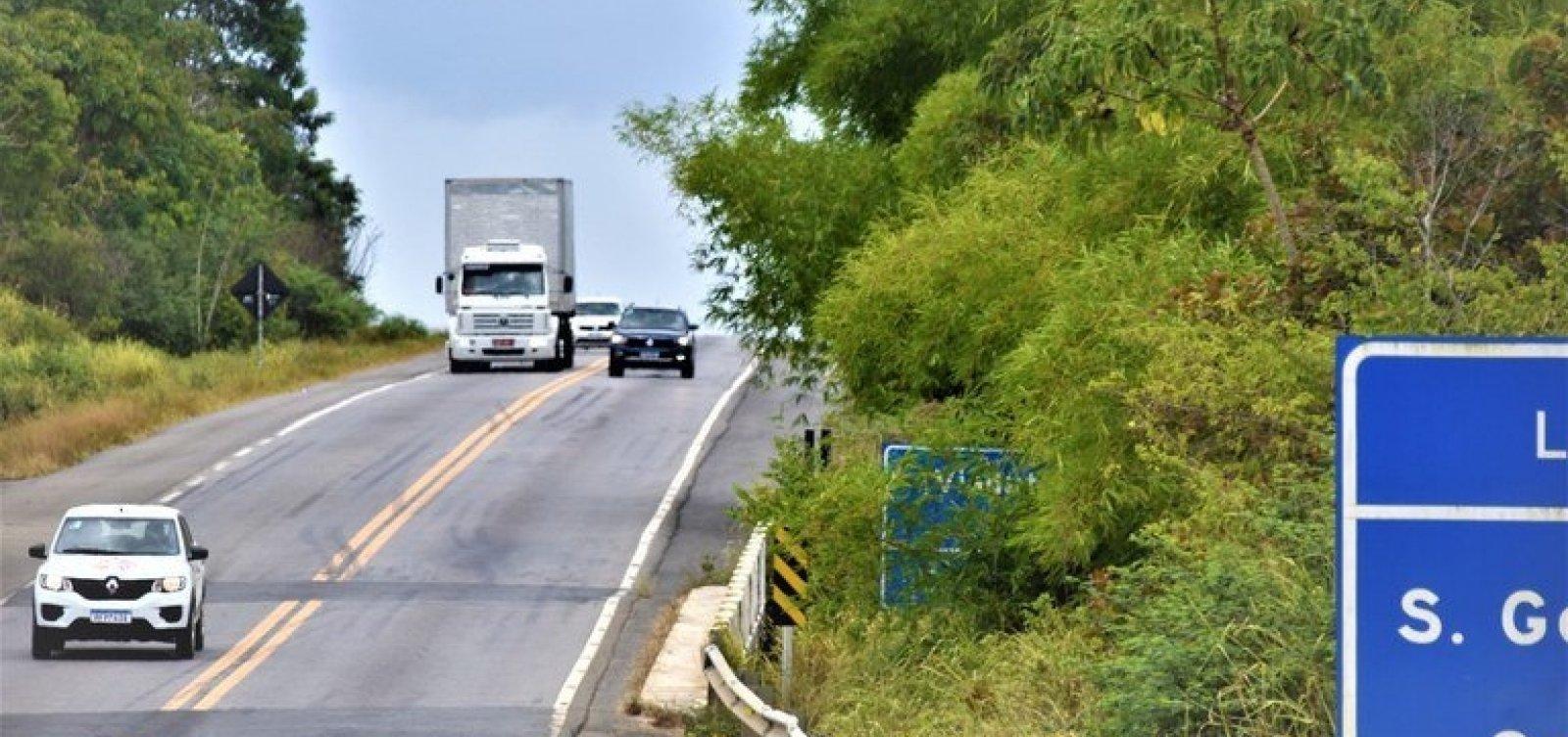 Rodovias baianas registram mais de 50 mil flagrantes de ultrapassagem proibida, diz PRF 18