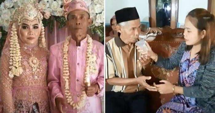 Idoso de 78 anos se separa de adolescente de 17 cerca de 22 dias após o casamento 18