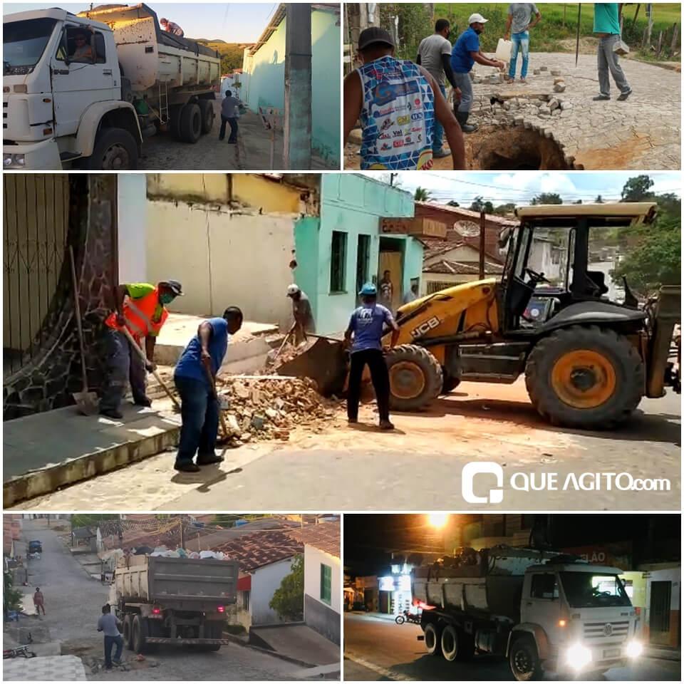 Itagimirim : Secretaria de infra estrutura e serviços públicos tem um trabalho intenso na primeira semana. 18