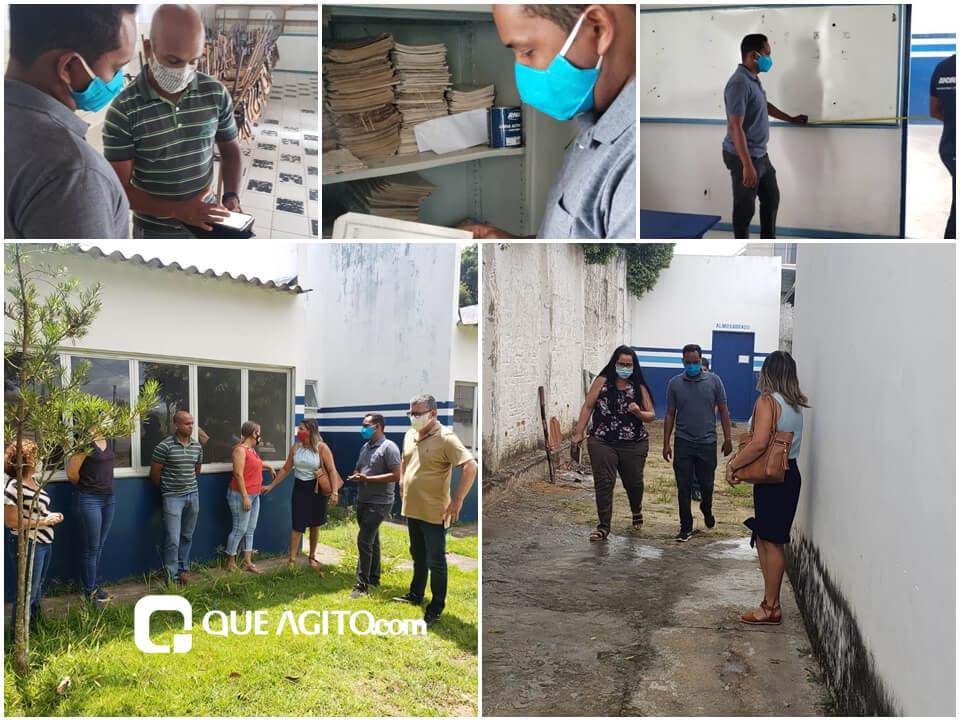 ESCOLAS: LUIZINHO VISTORIA UNIDADES DE ENSINO DE ITAGIMIRIM 18