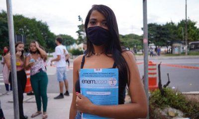 Enem: Alunos relatam atenção a regras sanitárias e ar-condicionado ligado 4