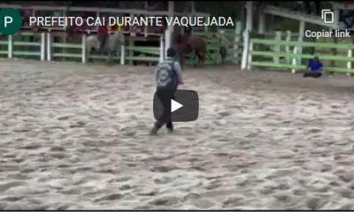 CANAVIEIRAS: PREFEITO CAI DURANTE VAQUEJADA (VÍDEO) 15