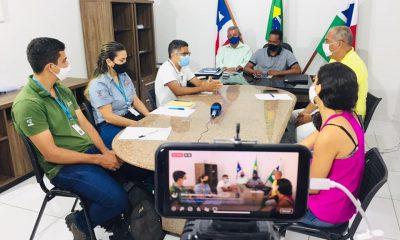 ITAGIMIRIM: A live para apresentação de soluções para microempreendedores e agricultores de pequeno porte, com o Banco do Nordeste aconteceu hoje. 51