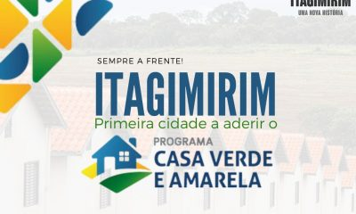 HABITAÇÃO: Itagimirim é a primeira cidade da Bahia a se inscrever no Programa Casa Verde e Amarela 44
