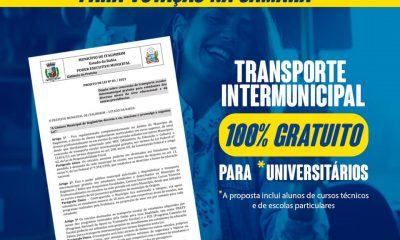 Governo de Itagimirim envia proposta de Lei que propõe gratuidade no transporte escolar intermunicipal. 31