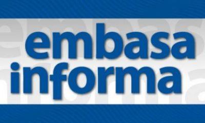 Abastecimento de água será suspenso nesta quarta-feira (24) em Itabela para manutenção em adutora da Embasa 16