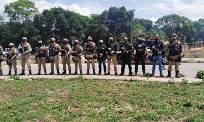 Eunápolis - Polícia Civil e Militar realizam ações para identificar responsáveis por loteamento irregular 26