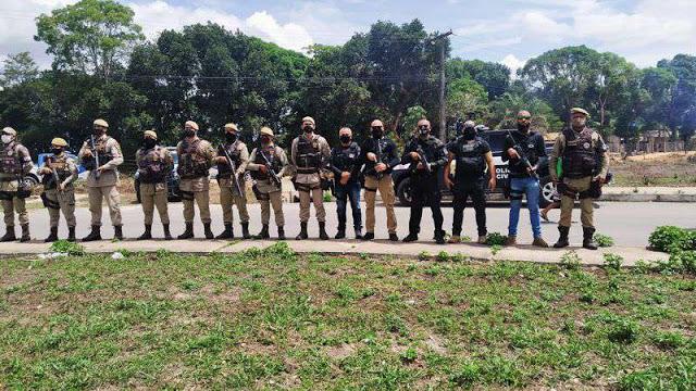 Eunápolis - Polícia Civil e Militar realizam ações para identificar responsáveis por loteamento irregular 18