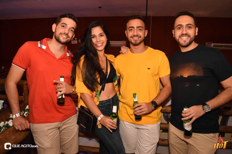 Noite de sexta da Hot contou com André Lima e Rafael 67
