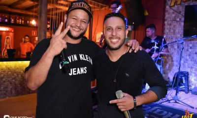 Noite de sexta da Hot contou com André Lima e Rafael 13