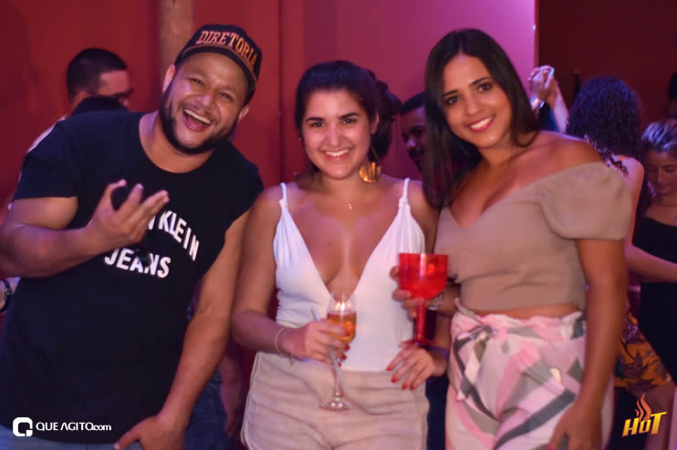 Noite de sexta da Hot contou com André Lima e Rafael 90