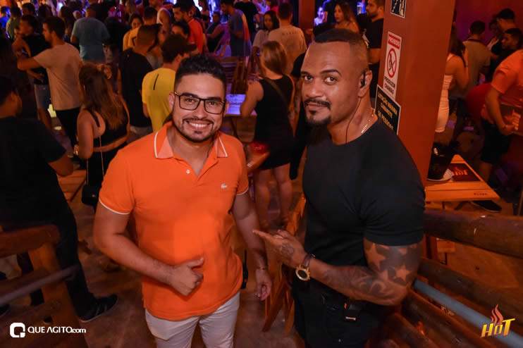 Noite de sexta da Hot contou com André Lima e Rafael 110
